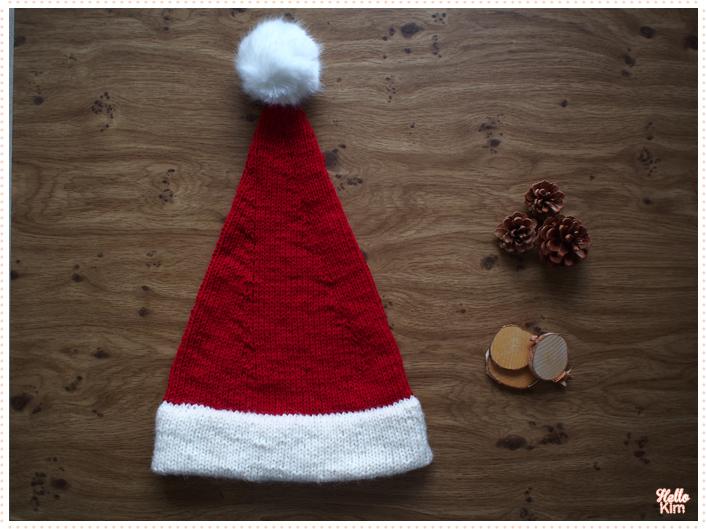 Bonet de Noël oversize