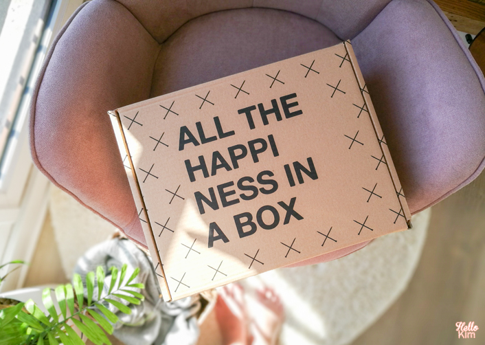carton we are knitters - all the hapiness in a box