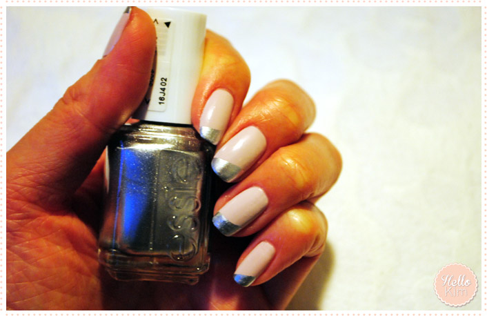Hellokim_Nailart_French_metal_1