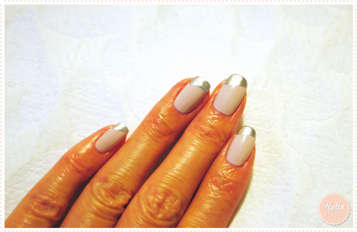 Hellokim_Nailart_French_metal_2