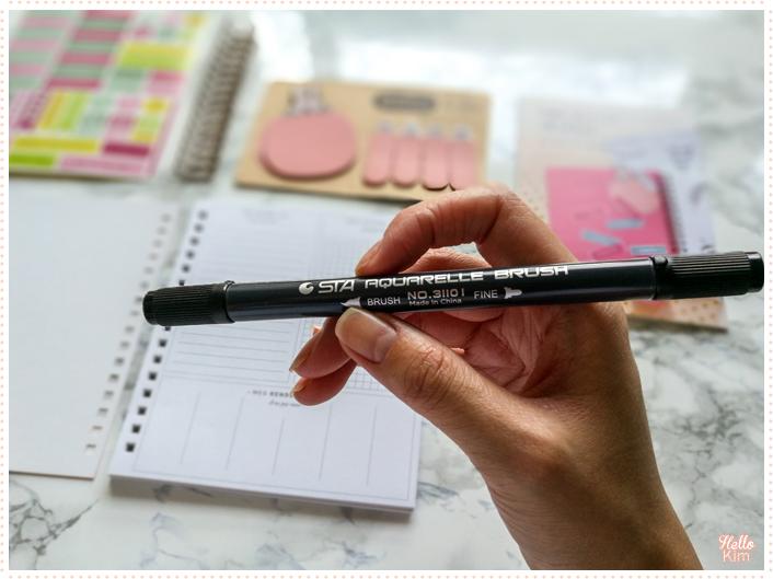 Feutre double pointe inclus dans le kit Mon Bullet journal Mes Kits Make It de la Petite Épicerie