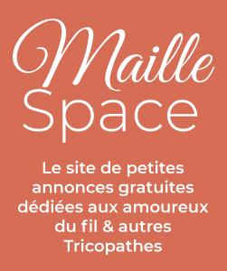Maille Space, le site de petites annonces dédiées au tricot