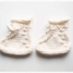 <span>Tricot layette</span> Les mini chaussons