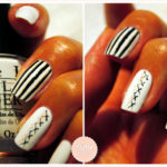 <span>Special Halloween Manicure</span> BeetleJuice new version