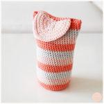 <span>Crochet</span> Une housse multicolore pour mon objectif