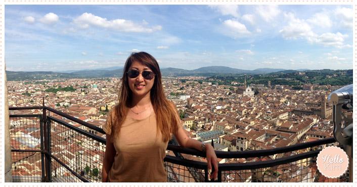 Florence 05.2014 - Vue panoramique depuis le Duomo