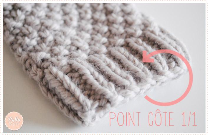 Tricot les mitaines carole avec explications et - Comment tricoter des mitaines avec doigts ...