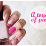 <span>Nail art</span> A touch of pink