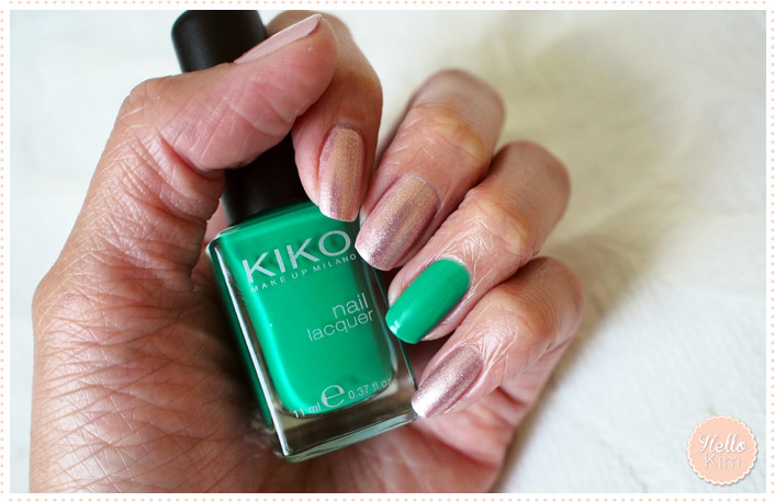 hellokim_nailart_accent_nail_green_1