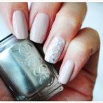 <span>Nail art</span> for a bride