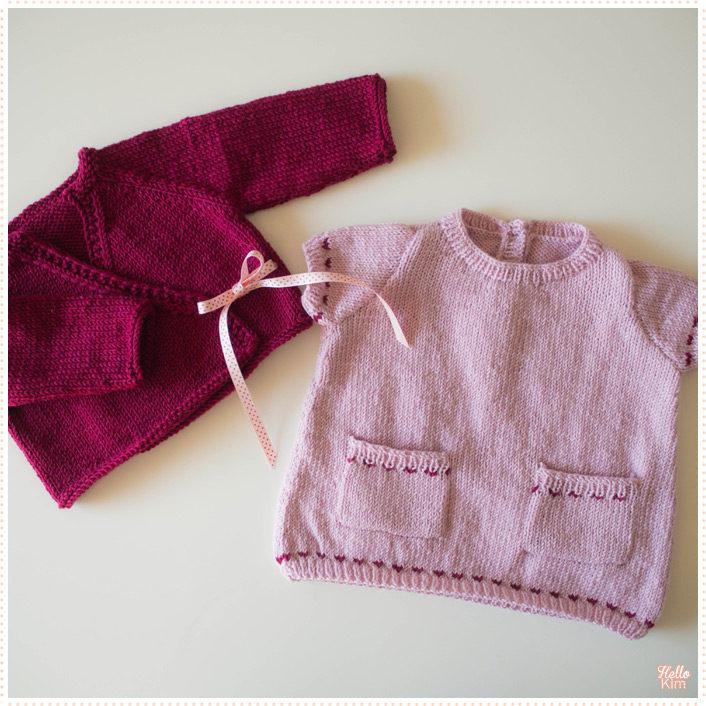 tricot-layette_robe-a-poches_brassiere-tresor_hellokim